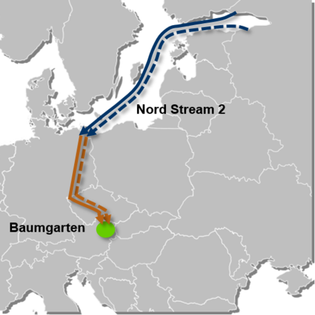 Nord Stream 2 Karte.Demystifying Nord Stream 2 Omv S Rationale For Participating In The